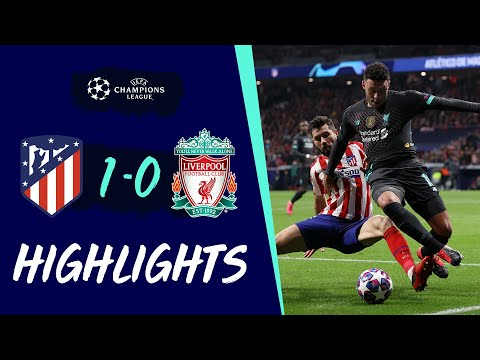 Highlights: Atletico 1-0 Liverpool | Narrow first-leg defeat in Madrid