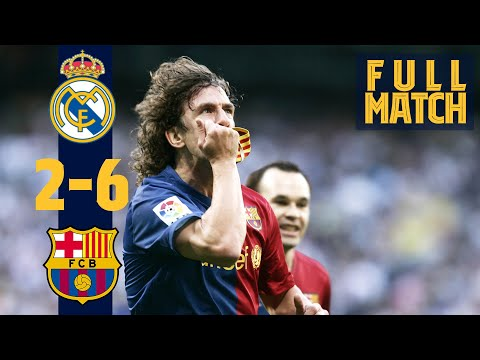 FULL MATCH: Real Madrid 2 – 6 Barça (2009) THE LEGENDARY 2-6 IN #ELCLÁSICO!