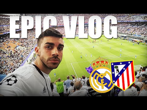 Real Madrid 1-1 Atlético de Madrid | FINAL UEFA CHAMPIONS LEAGUE 2016 | EPIC VLOG