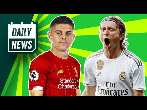 Real Madrid's INCREDIBLE new midfield! + Liverpool switch transfer target? ► Daily News