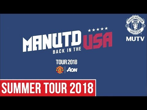 Manchester United to face Liverpool, AC Milan and Real Madrid in Tour 2018, presented by Aon