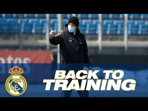 Back to training for Zidane, Ramos and Real Madrid squad for first time since COVID-19 pandemic