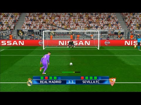 UEFA Super Cup 2016 | penalty shootout | Real Madrid vs Sevilla | PES Gameplay PC