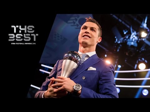 THE BEST FIFA MEN'S PLAYER 2016 – Cristiano Ronaldo – Award Presentation