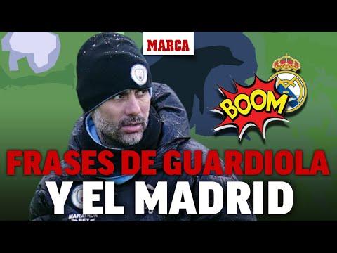Guardiola y el Real Madrid: todos los dardos de Pep al club blanco I MARCA