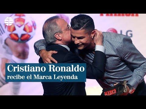 Cristiano Ronaldo recibe el Marca Leyenda