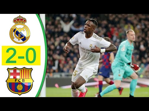 Real Madrid vs Barcelona 2-0 Highlights & All Goals 2020 HD