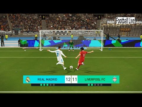 PES 2018 | Penalty Shootout | REAL MADRID vs LIVERPOOL FC | Gameplay PC