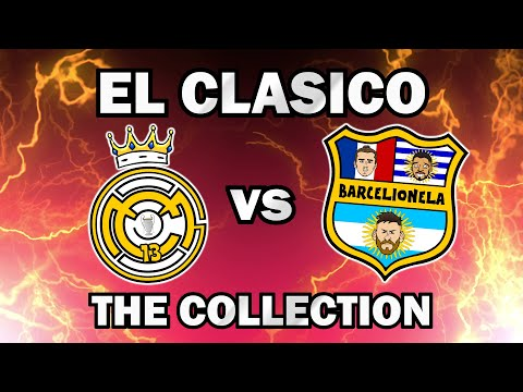 El Clasico Collection – Real Madrid vs Barcelona Top Videos
