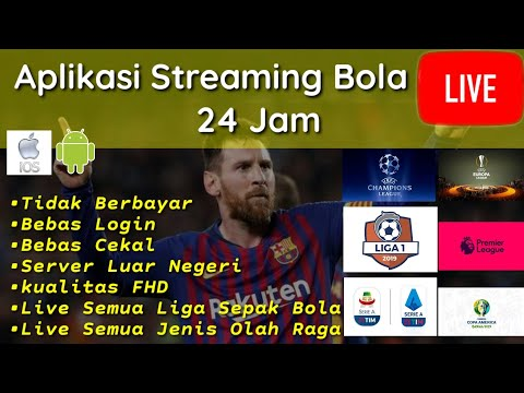 Aplikasi Live Streaming Sepak Bola Terlengkap • IOS & Android *BACA PIN KOMENTAR*