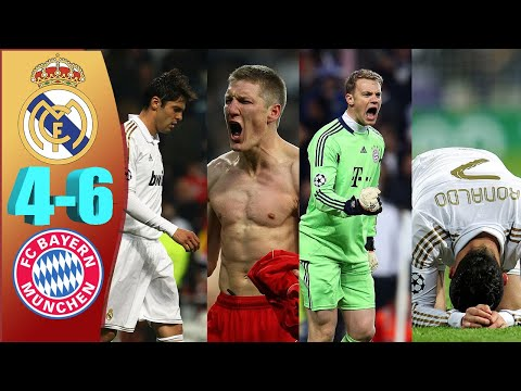 Real Madrid vs Bayern Munich (3-3 aet) (1-3 Penalties)| Peter Drury Commentary | UCL Semi Final 2012