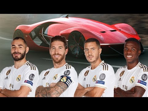 Real Madrid Players's Car Collection 2019/2020 | Which Car is the most Expensive?