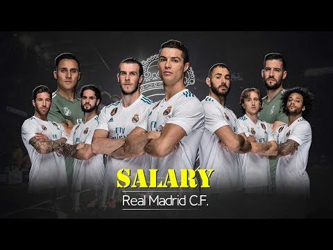Real Madrid Players Salary 2018 (Weekly Wages)