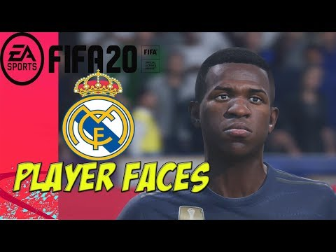 FIFA 20 –  Real Madrid Player Faces