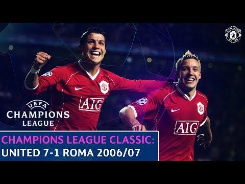 UEFA Champions League Classic | Manchester United 7-1 Roma | Quarter-Final 2nd Leg | 2006/07