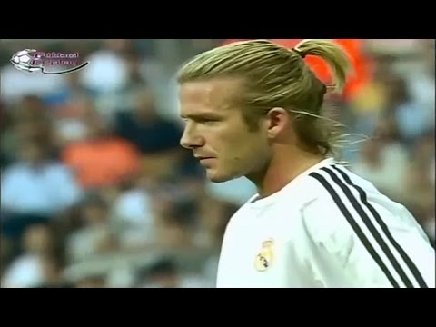 David Beckham Vs Real Betis II Real Madrid Debut