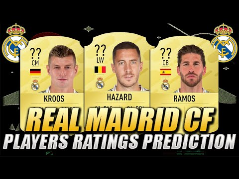 FIFA 21 | REAL MADRID CF PLAYERS RATINGS PREDICTION | w/ Hazard, Ramos & Kroos