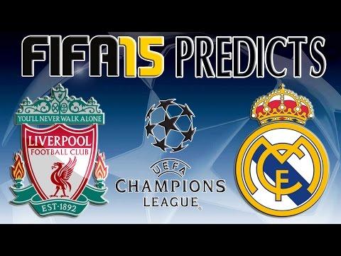 FIFA 15 Predictions | Liverpool vs Real Madrid (22/10/2014)