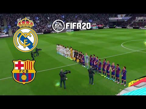 UEFA Europa League FINAL Barcelona vs Real Madrid FIFA 2020 EL CLASICO