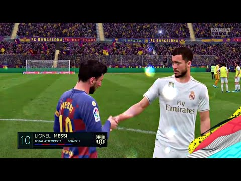 FIFA 2020 Barcelona VS Real Madrid El Clasico FIFA 2020 PS4 Gameplay