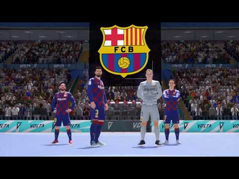 FIFA 2020 Volta Barcelona vs Real Madrid PS4