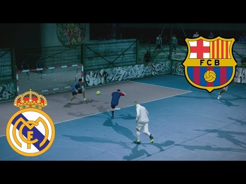 Fifa Street Gameplay Xbox 360 – Barcelona vs Real Madrid, Un partido muy rudo, Casi a los Golpes