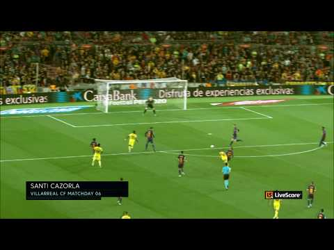 Watch Cazorla's screamer and Vinicius Junior's curler with the LiveScore 360Replay Camera MD6