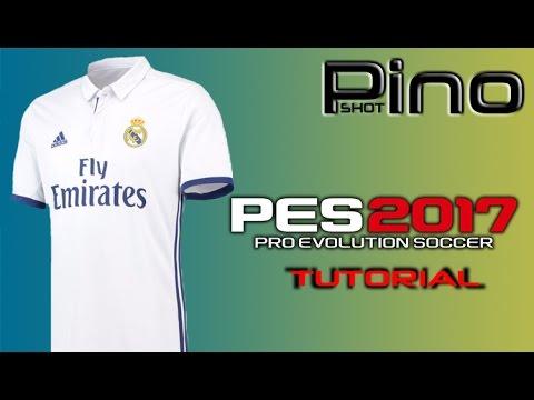 Edit Real Madrid Home Kit – PES 2017 Tutorial