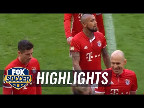 Bayern Munich vs. Hamburg SV | 2016-17 Bundesliga Highlights