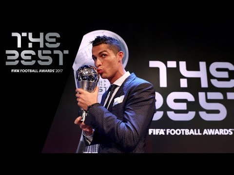 Cristiano Ronaldo reaction – The Best FIFA Men's Player 2017 (ENGLISH)