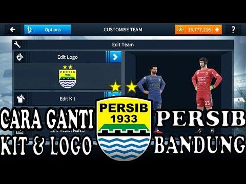 Cara ganti kit & logo dream league soccer 2018 | PERSIB BANDUNG