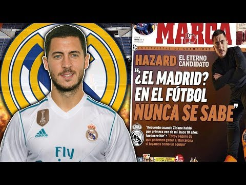BREAKING: Eden Hazard's Bust-Up With Chelsea To Force Real Madrid Transfer?! | W&L