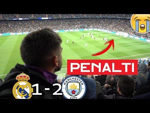REAL MADRID 1-2 MANCHESTER CITY *MADRIDISTA REACCIONANDO*