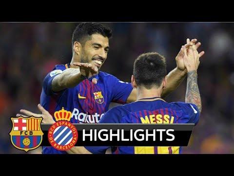 Barcelona vs Espanyol 5-0 ● 1ST Half Highlights ● 09 September 2017 HD