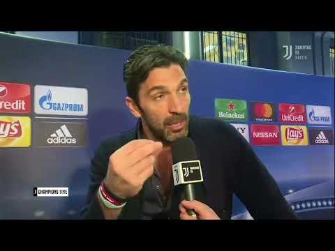 """Le lacrime di Buffon dopo Real Madrid-Juventus 1-3: """"L' arbitro non è un essere umano"""""""