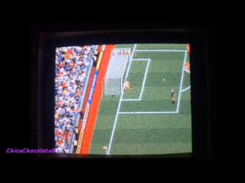 (11) Real Madrid vs Manchester United 1-1   Commodore Amiga 500